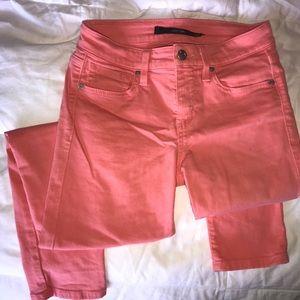 Joe's Jeans Pink Skinny Jeans